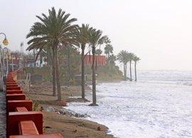 El Gobierno gestiona ayudas para playas afectadas por temporal en Málaga, que estarán en condiciones en Semana Santa