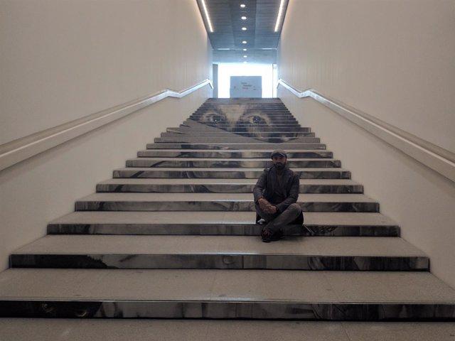 Escalera Pompidou José Luis Puche