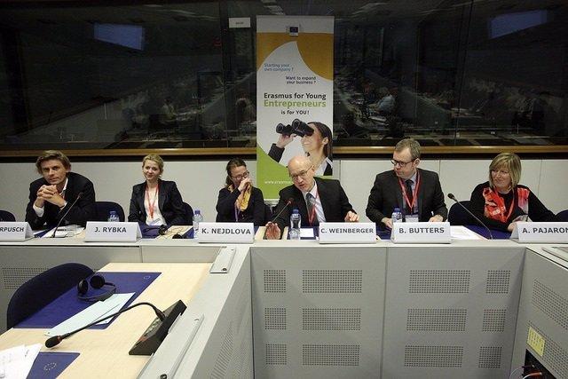 Un encuentro dentro del programa Erasmus for young entrepreneurs