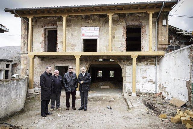 Inauguración de la rehabilitación del edficio municipal de San Felices de Buelna