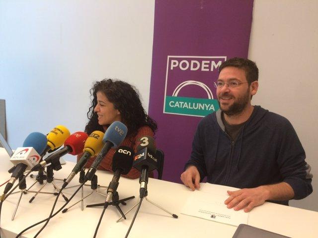 Albano-Dante Fachín y Ruth Moreta