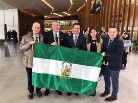 La naviera Armas es galardonada con la Bandera de Andalucía por su compromiso con Motril