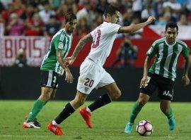 El Sevilla busca redondear la semana en el derbi
