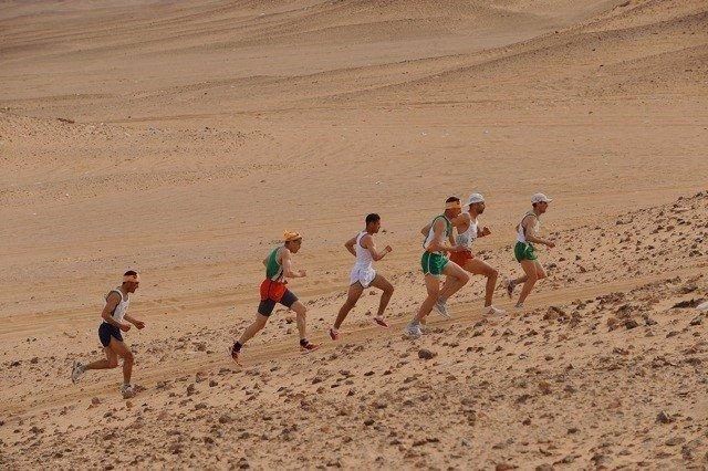 Maratón benéfico Sahara
