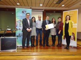 EmprendeRioja otorga a Carlos Tarragona el diploma al emprendedor del mes de febrero por su proyecto Drónica solutions