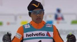 El esquiador venezolano deportado por Francia, ya descalificado del Mundial, asegura que seguirá entrenando