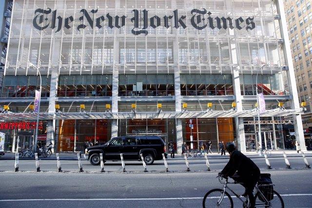 Sede del diario 'The New York Times'