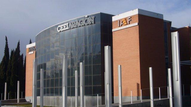 Instalaciones de CEEIAragón en Zaragoza.