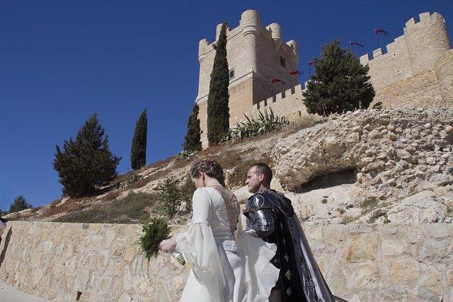 El año pasado se dieron el 'sí quiero' cuatro parejas en el castillo