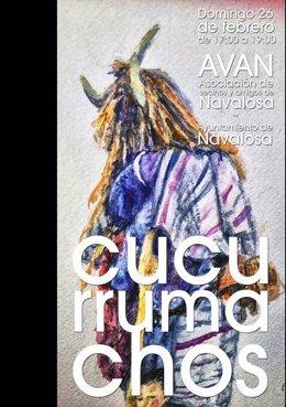 Cartel anunciador del Cucurrumacho de Navalosa