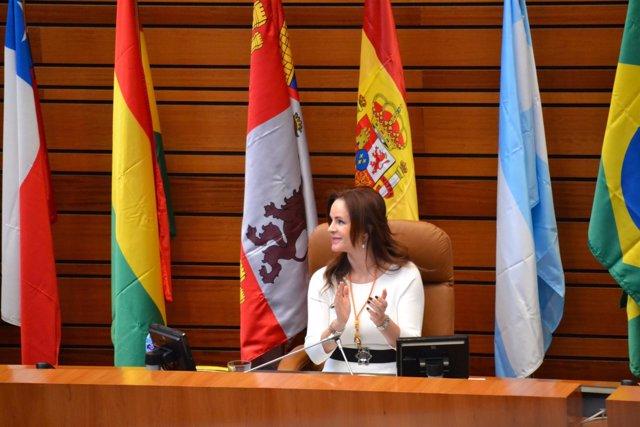 Valladolid. Clemente preside el acto.