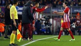 Godín recibe el alta y regresa a la lista ante el FC Barcelona