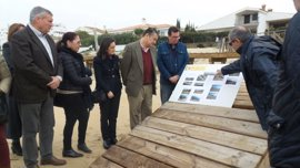Las obras para reparar los daños del temporal en las playas de Huelva comenzarán en marzo