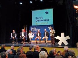 """El PDeCAT se reivindica en Barcelona frente al """"dogma y sectarismo"""" de Colau"""