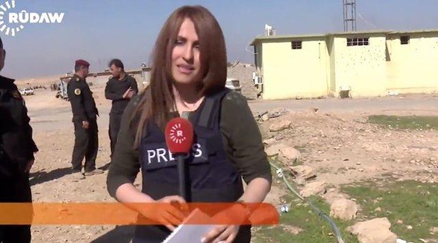 La fallecida periodista kurda Shifa Gardi