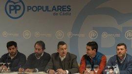 Sanz destaca que 17.100 militantes del PP de Cádiz serán protagonistas en la elección del presidente del PP-A