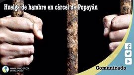 Casi cien miembros de las FARC encarcelados inician una huelga de hambre para mejorar sus condiciones de vida