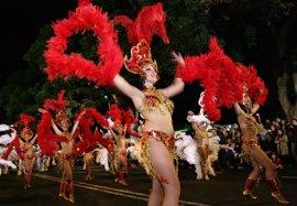 Unas 85.000 personas presenciaron la Cabalgata Anunciadora del Carnaval de Santa Cruz