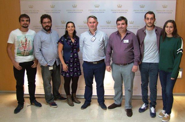 Investigadores del proyecto de la UPV y el CIPF sobre el síndrome de Dravet