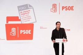 El 'número dos' de la Gestora elogia a Juventudes Socialistas tras la campaña contra Pedro Sánchez
