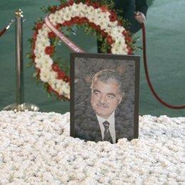 Funeral del ex primer ministro libanés Rafik Hariri