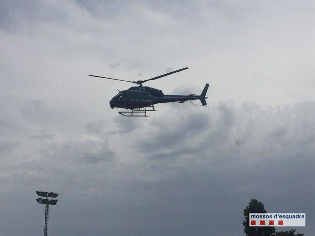 Helicóptero de los Mossos d'Esquadra