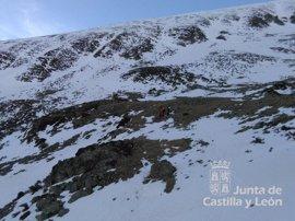 Rescatado en helicóptero un montañero tras caerse en el Pico San Millán (Burgos)