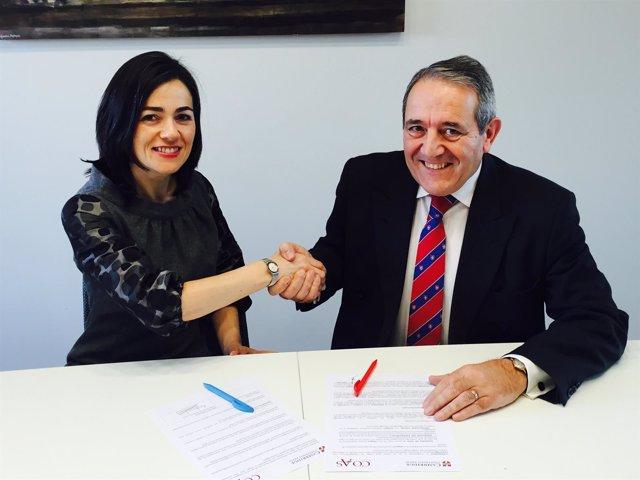 Acuerdo COAS y Cambridge