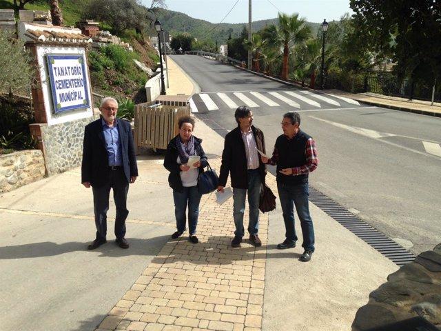 Visita Totalán PFEA Diputación