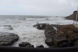 La Palma, El Hierro, Tenerife y Lanzarote, en aviso amarillo por fenómenos costeros adversos