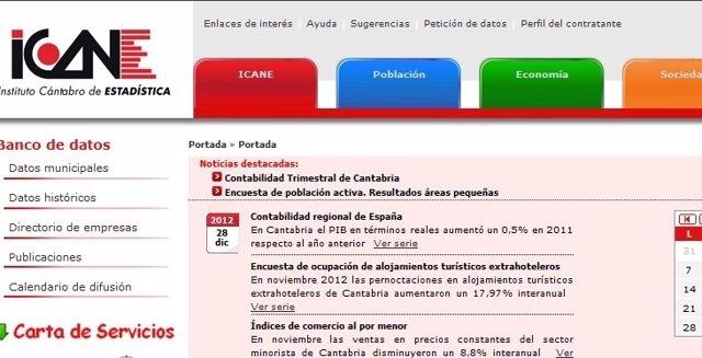 Web Del ICANE