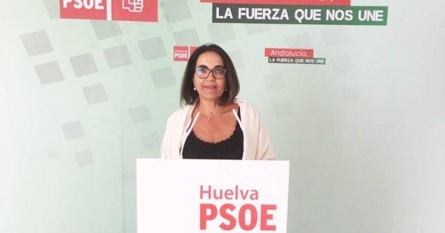 La diputada del PSOE por Huelva Pepa González Bayo