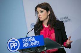 """Andrea Levy acusa a la Generalitat de """"trabajar solo para los independentistas"""" y de usar """"victimismo oportunista"""""""