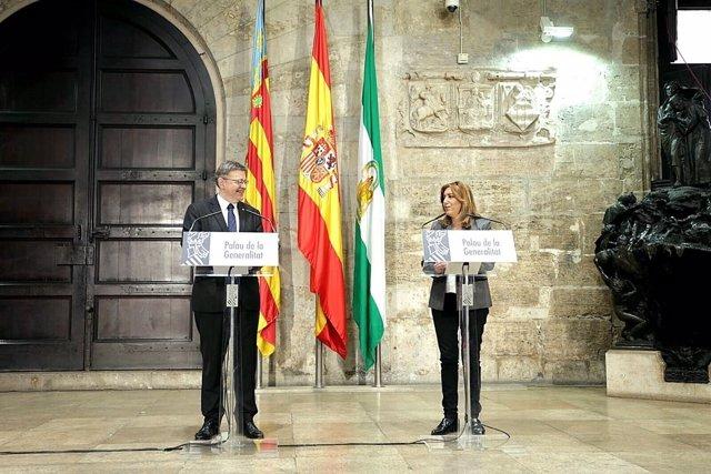 Puig y Díaz durante sus intervenciones