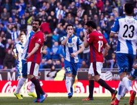 El Espanyol rompe la mala racha y hunde a Osasuna