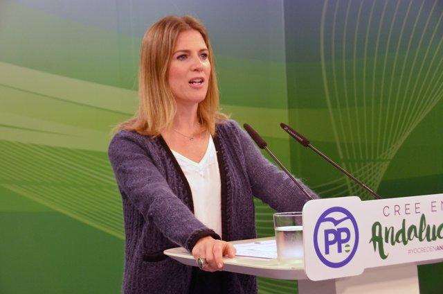 Rueda de prensa de Ana Mestre (PP-A)