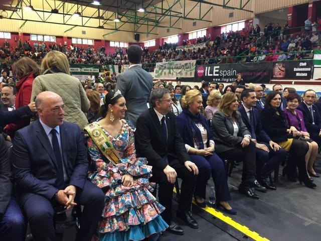 La Diputación de Córdoba participa en la celebración del 28F en Valencia