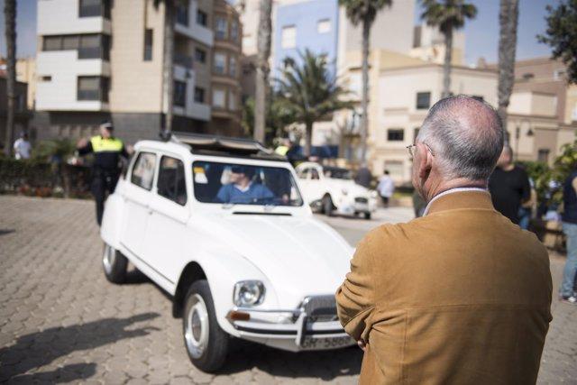 Vehículos clásicos de Citroën se congregan en el destino Costa Almería'