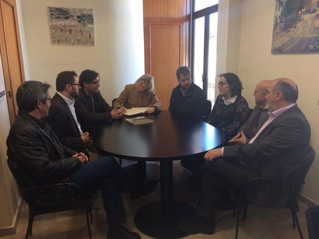 La consellera Neus Munté visita Santa Eulàlia de Ronçana