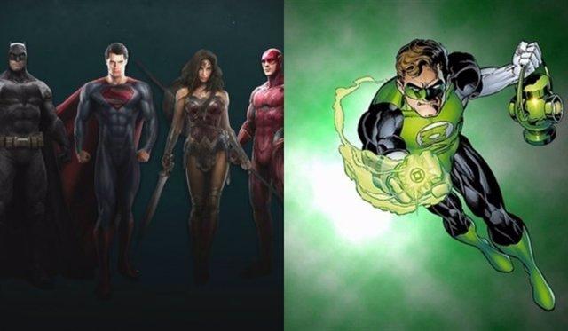 La Liga de la Justicia y Linterna Verde