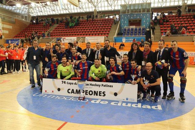 Barcelona hockey Copa Rey