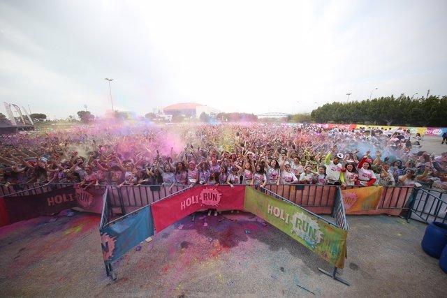 Holi Run Málaga 2017
