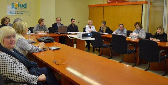 Reunión de los presidentes de Consejos de Salud.