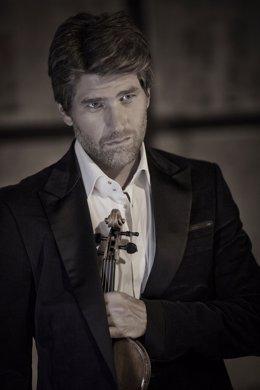 El violinista Nicolas Dautricourt