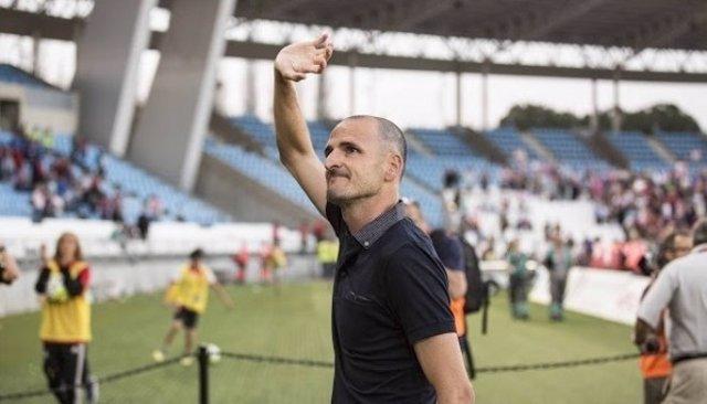Fernando Soriano, entrenador del Almería