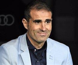 Gaizka Garitano, entrenador del Deportivo de la Coruña