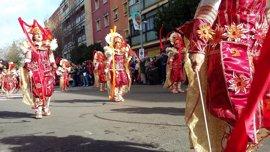 Cruz Roja realiza 47 intervenciones en el Desfile de Comparsas del Carnaval de Badajoz