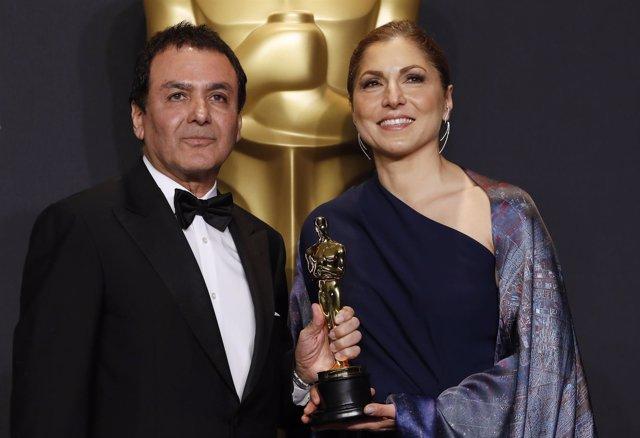Anousheh Ansari y Firouz Naderi