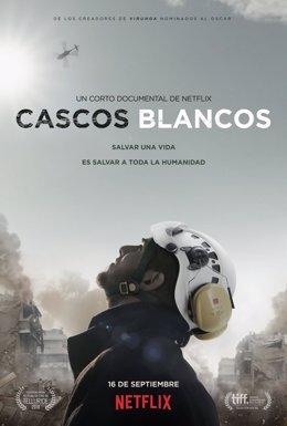 Póster Cascos Blancos