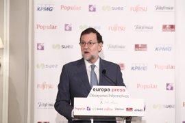 """Rajoy dice que Homs está sometido a la ley como todos y le recuerda que España tiene """"muy buena salud"""""""